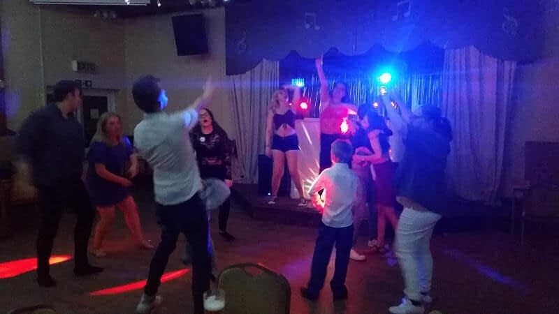 18th and 21st Birthday - The Monty Club Newtown - Happy Sounds Mobile Disco