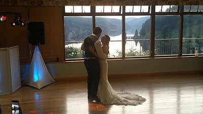 First Dance - Lake Vrynwy - Happy Sounds Mobile Disco