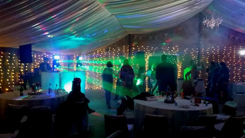 Wedding after party - Glyngwynedd Barns Llanidloes - Happy Sounds Mobile Disco