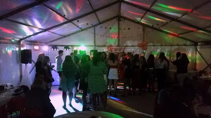 21st Birthday Party - Llanidloes Happy Sounds Mobile Disco