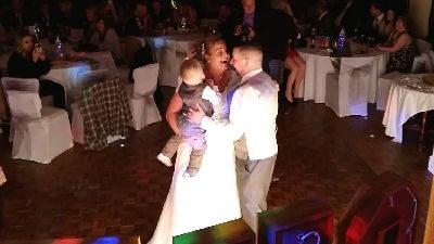 Wedding Reception - First Dance - Comrades Ellesmere - DJ - Happy Sounds Mobile Disco