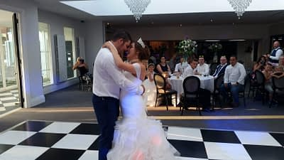 Mr and Mrs Jones - First Dance - Tern Hill Hall, Market Drayton. - Happy Sounds Mobile Disco