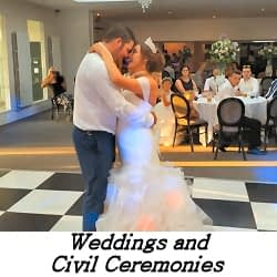 Weddings and Civil Ceremonies - Happy Sounds Mobile Disco