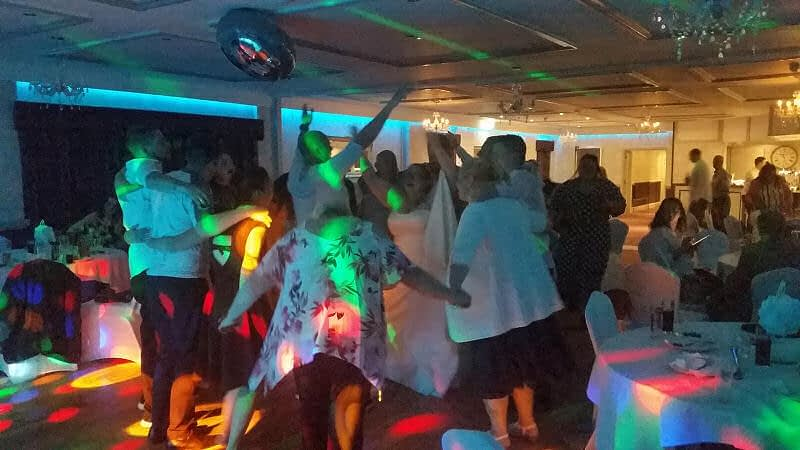 Wedding - Bride and Groom - Maesmawr Hall - Happy Sounds Mobile Disco