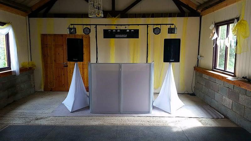 Music Equipment Hire (DJ-Less Hire) - Happy Sounds Mobile Disco