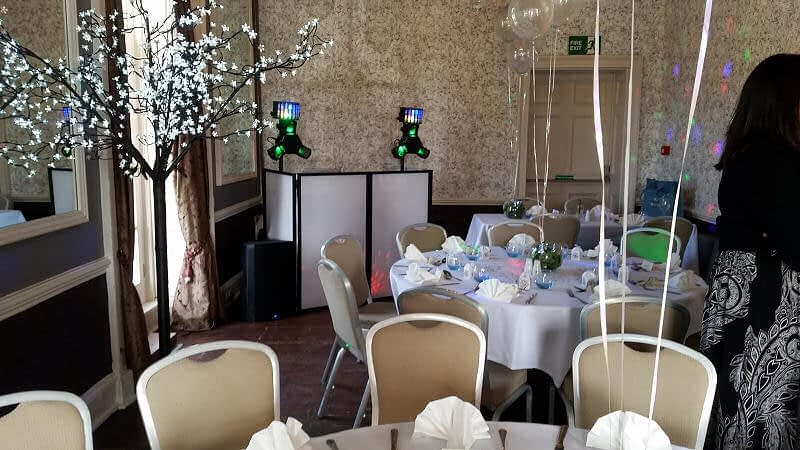 School Prom - Sweeny Hall Hotel Oswestry - Happy Sounds Mobile Disco