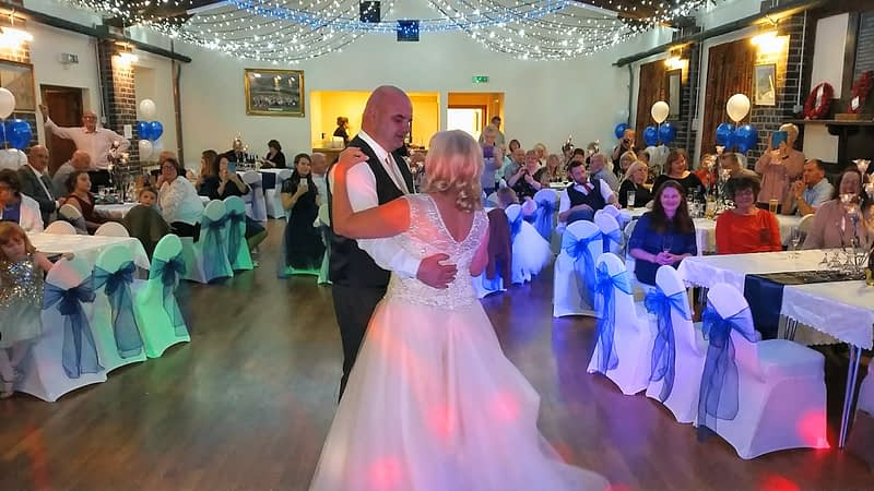 Weddings - First Dance of Mr and Mrs Hill - Happy Sounds Mobile Disco