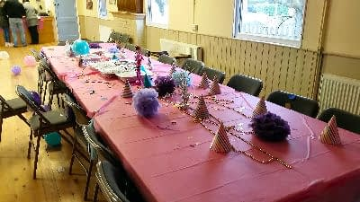 Table Food Child Party - DJ - Happy Sounds Mobile Disco