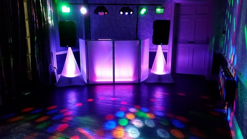 Purple Colour lighting - Happy Sounds Mobile Disco