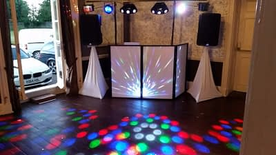Oswestry School Prom. Sweeney Hall Country Hotel, Oswestry. Happy Sounds Mobile Disco