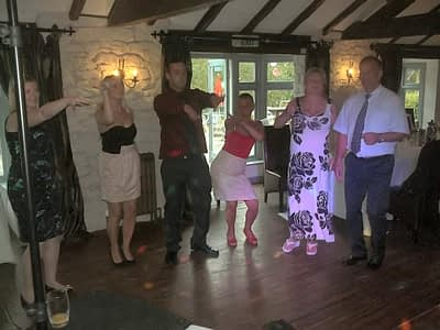 About Happy Sounds Mobile Disco - Wedding at The Boat - Erbistock