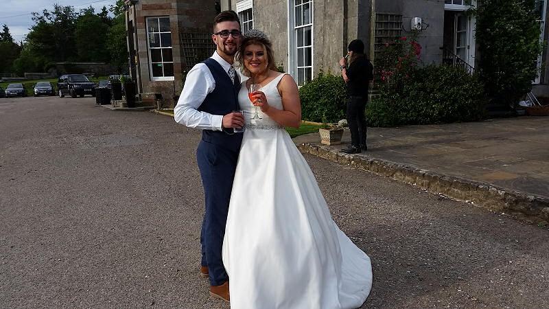 Bride and Groom - Wedding - Sweeney Hall Oswestry - Happy Sounds Mobile Disco
