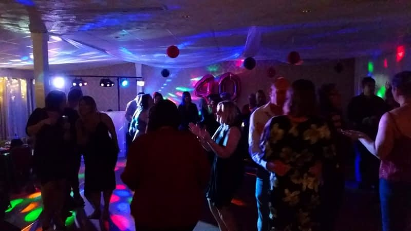 40th Birthday Party - Brosley Cricket Club - Happy Sounds Mobile Disco