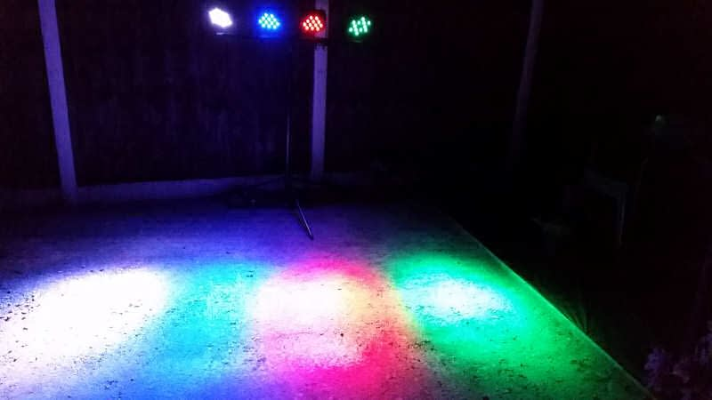Lighting Hire - Happy Sounds Mobile Disco