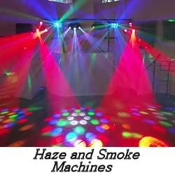 Smoke and Haze Machine Hire - Happy Sounds Mobile Disco