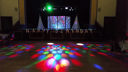 Happy Sounds Mobile Disco - 50th Birthday - Welshpool Town Hall