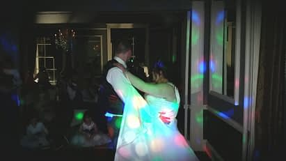 Happy Sounds Mobile Disco - First Dance Wedding at Sweeney Hall Country House Hotel