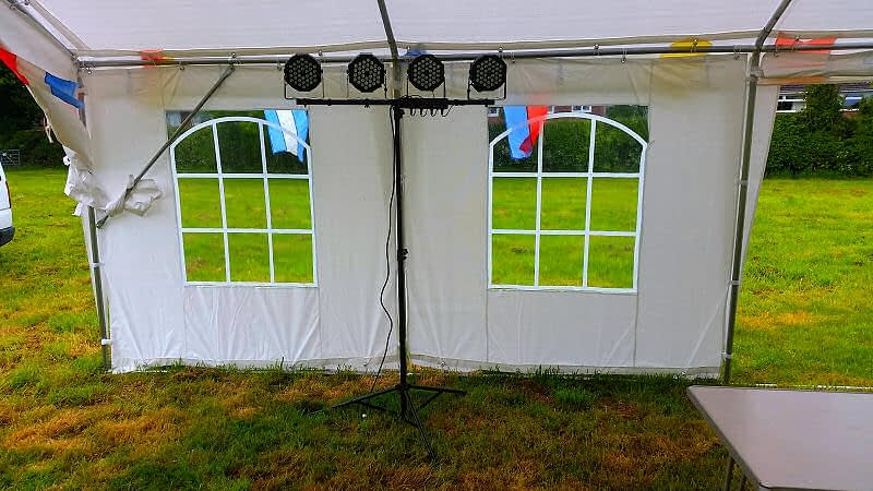 Stand Alone Lighting Hire - Happy Sounds Mobile Disco